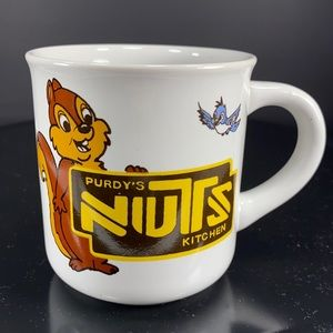Advertising Collector Ceramic Mug ~~ Purdy's
